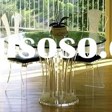 Round acrylic modern table set ,coffee table ,coference table set