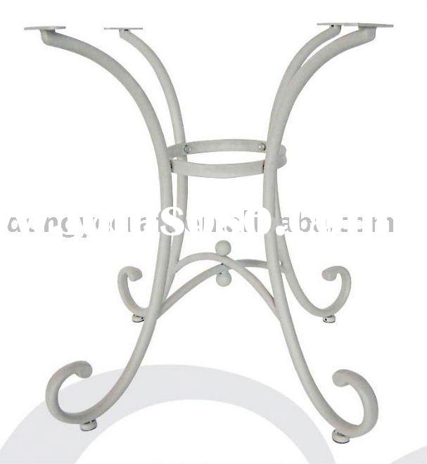 Fabulous White Wrought Iron Table Base 607 x 660 · 24 kB · jpeg