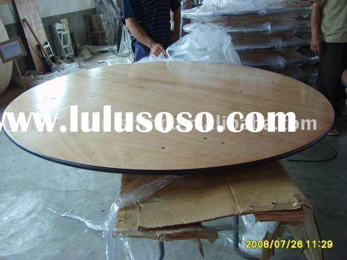 The wedding Table top is made of plywood 18mm thickness