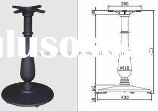 cast iron table pedestal