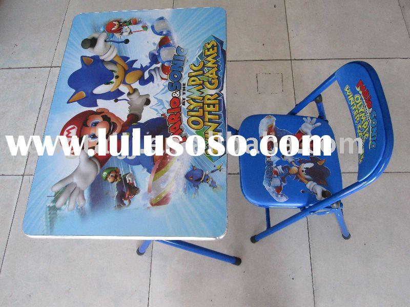 children folding Table and chair Set