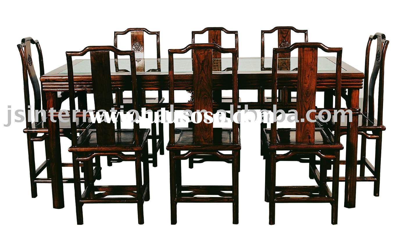 Antique wooden dining table - Asian Style Dining Room Furniture Inspiring Exemplary Exciting