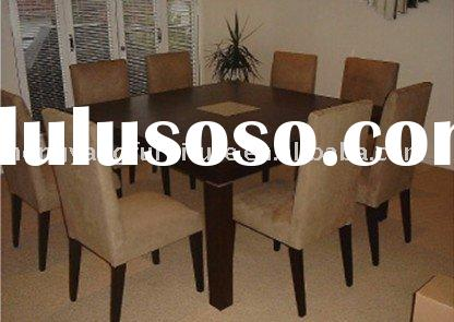 dining room furniture,dining square Table ,8 chairs