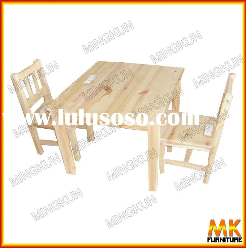 diningroom set      wooden table and chair    baby furniture