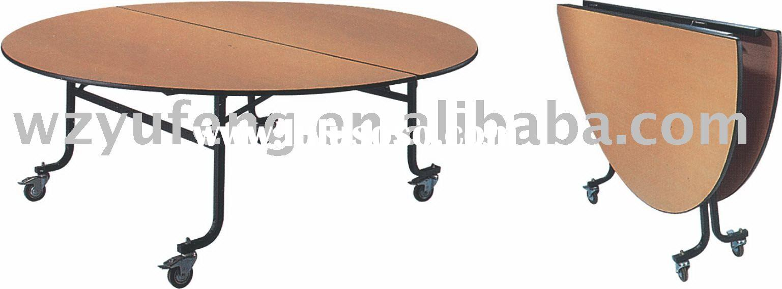 Folding restaurant table folding restaurant table for Cuisine table retractable