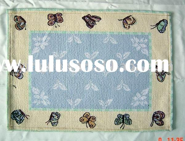 jacquard ,table mat,table pad,place mat,dining mat,home textile