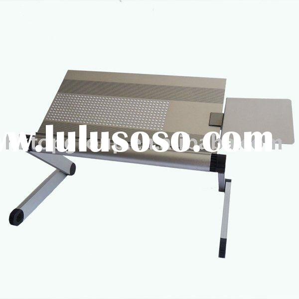 laptop table/laptop bed table/ergonomic laptop table with DIY rotatable mouse pad