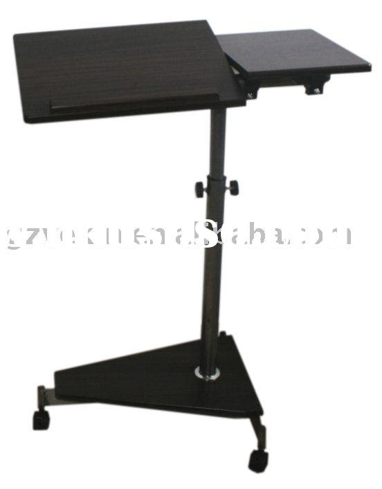 mobile height adjustable laptop table Multimedia Presentation Cart(L-08)