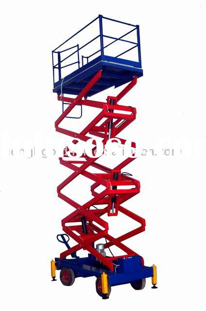 mobile scissor lift table