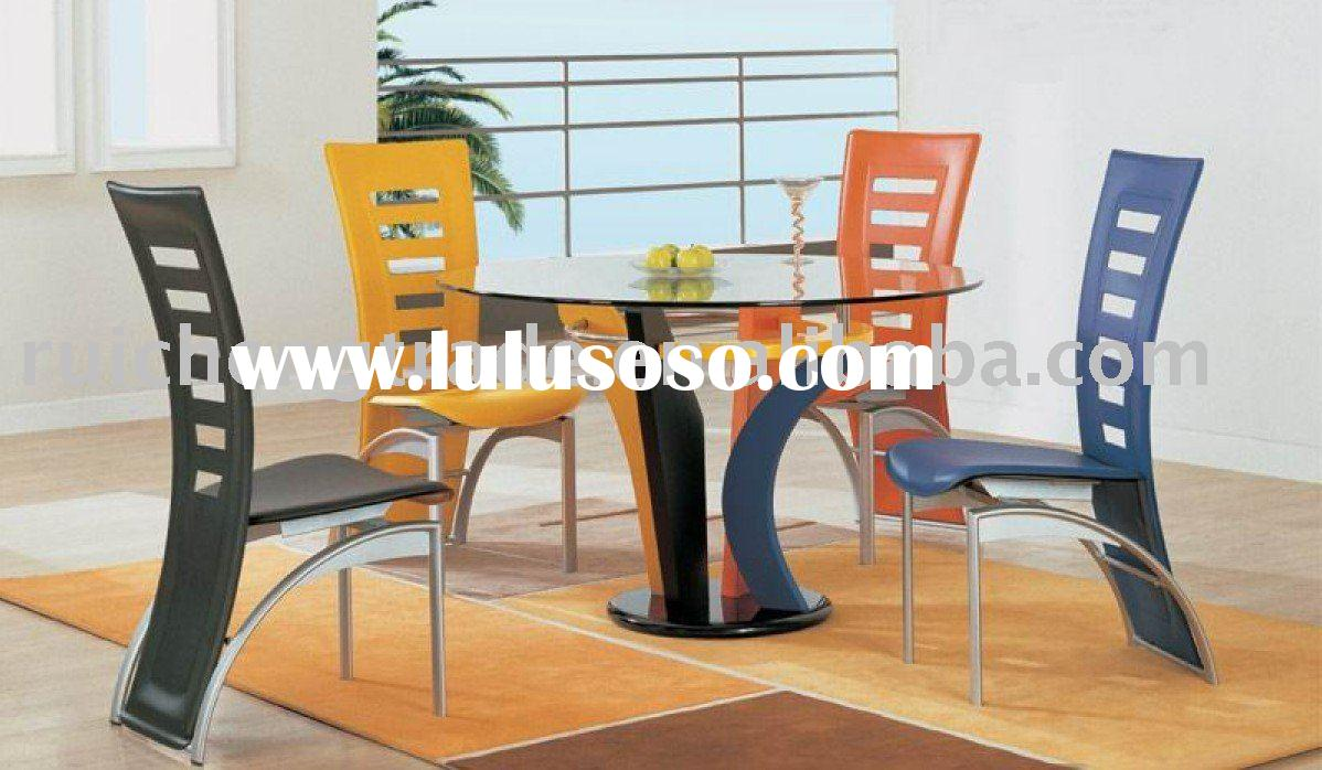 modern dining table sets RCWT-001(1+4)