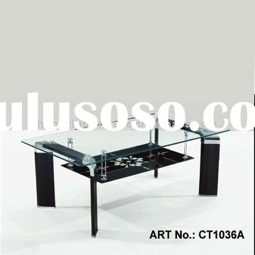 modern glass coffee table living room furniture CT1036A