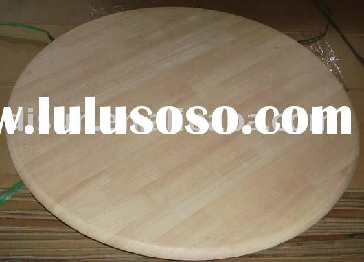 oak wood round table top