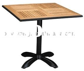 outdoor furniture ---aluminum wood table