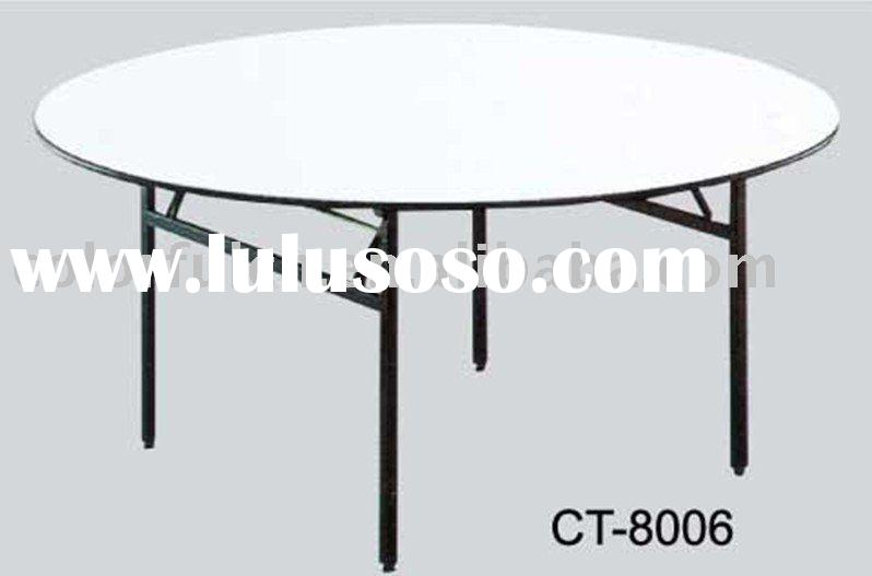 round folding wedding table ModelCT8006Description 1top20mm good