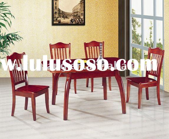 solid wood slab dining table