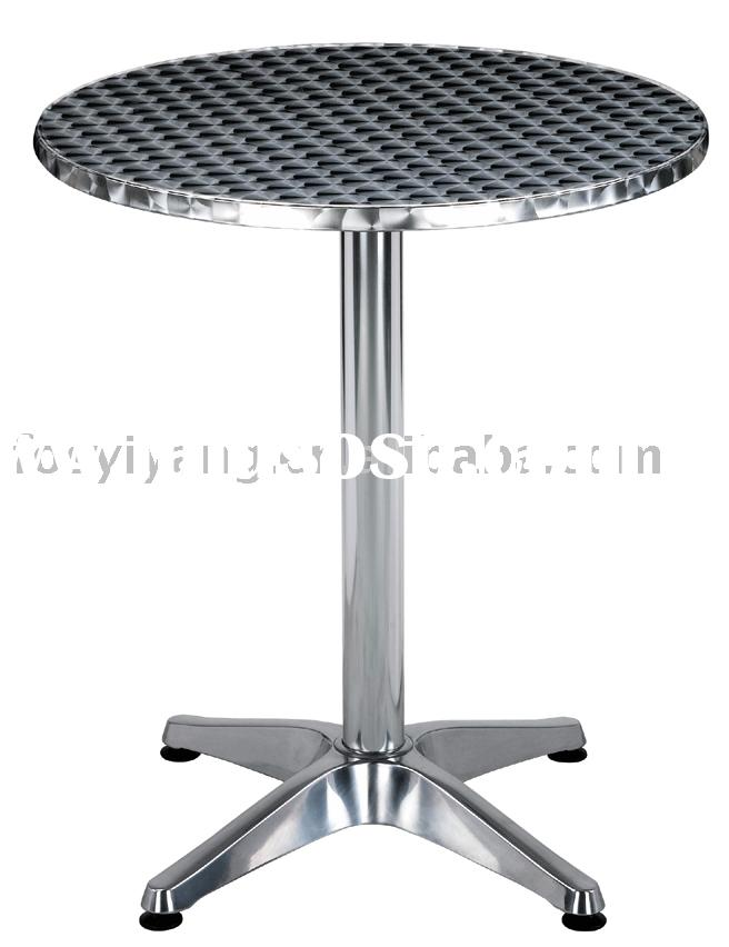 stainless steel table/outdoor furniture