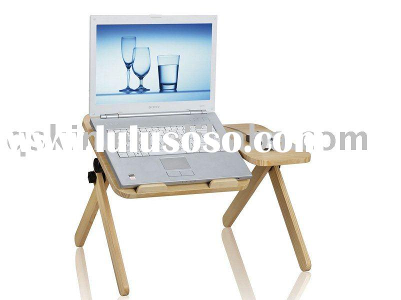 wood material laptop desk/table