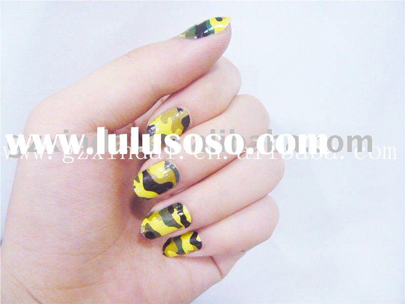 2011 hot sale polish sticker self-adhesive nail foils patch