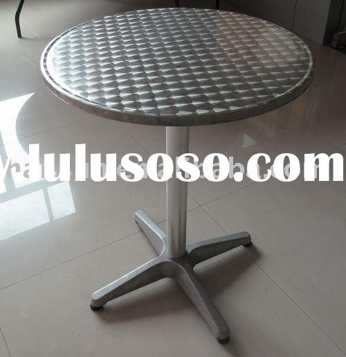 "24""aluminum round folding table, bar table,  outdoor table"
