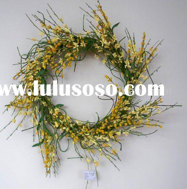 EASTER ARTIFICIAL FLOWER WREATH