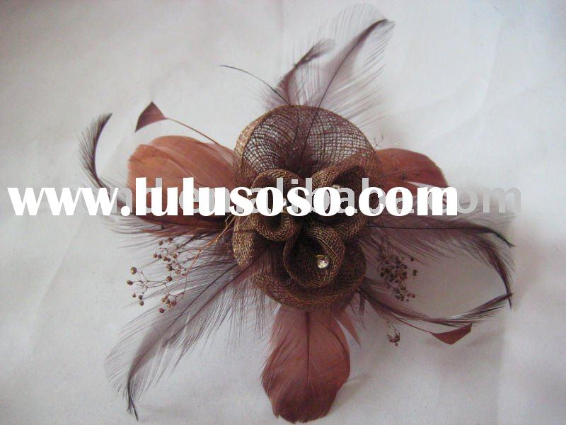 Fashion Flower Clips/flower clips/hair accessory /artificial flower clips