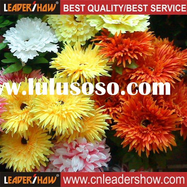 Hot Fresh Flower Artificial Gerbera Item gerbera LSSusan647Material Fabric