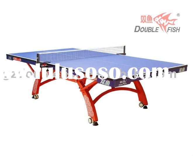 ITTF Approved Double Fish 328A  Table Tennis Table