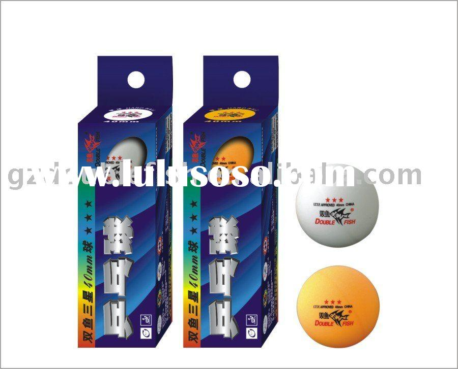 ITTF Approved Double Fish 3 Star Table Tennis Ball
