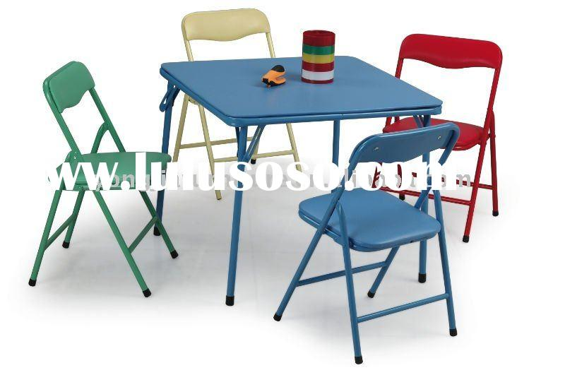 Kids Folding Table And Chairs Set Set Manufacturers In LuLuSoSo