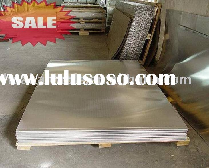 Mirror finish aluminum sheet