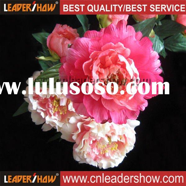 Silk Artificial Peony Flower Head ItemSilk Artificial Peony Flower