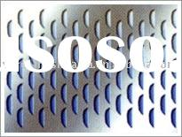Stainless steel/Galvanized/Aluminum Perforated Sheet (Factory)