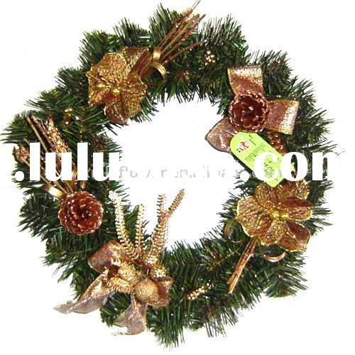 Wreath Decoration (Artificial Christmas Wreath, Christmas Decorative Wreath)