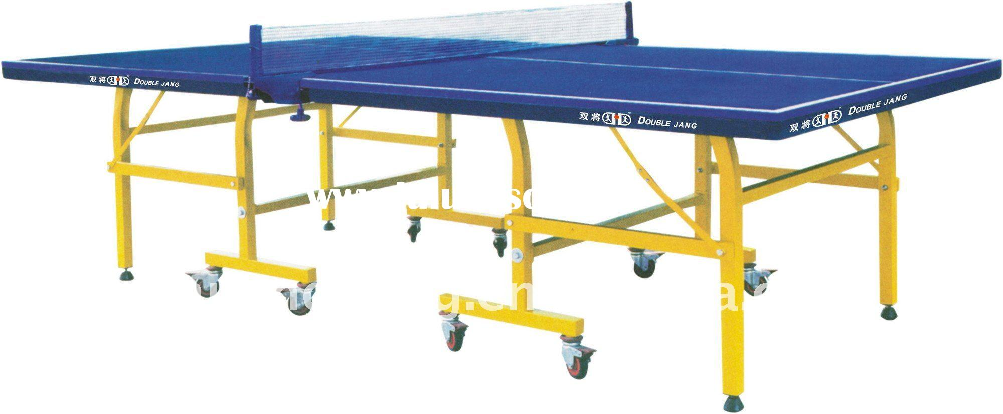 (SJ-213 )Interior Table Tennis equipment,Single Folding outdoor table tennis