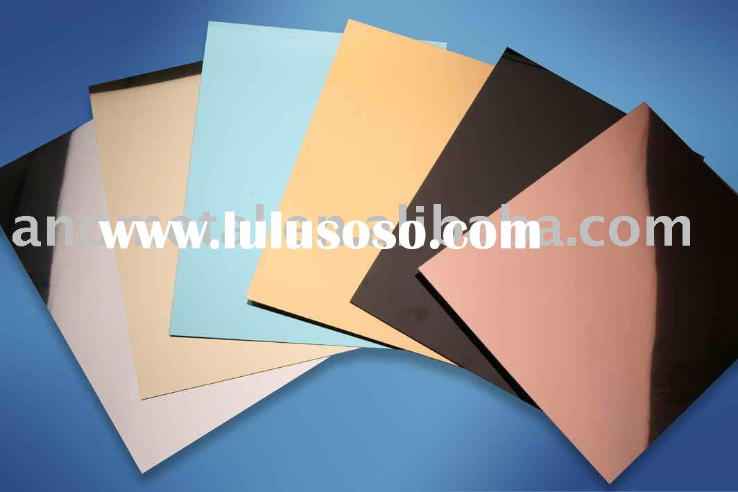 anodized aluminium coil of mirror surface with various colors