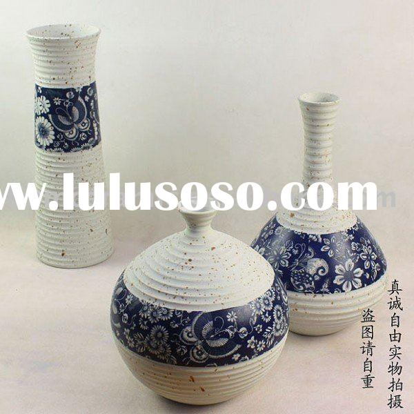 decorative porcelain vases