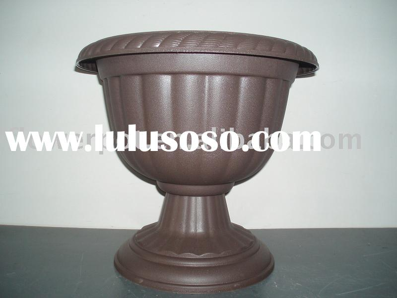 fancy flower pot;decorative flower pot;plastic flower pot