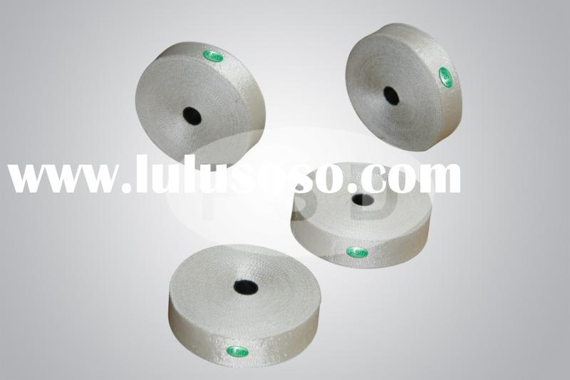 fiberglass insulation strap, heat preserving strap, adhesive tape