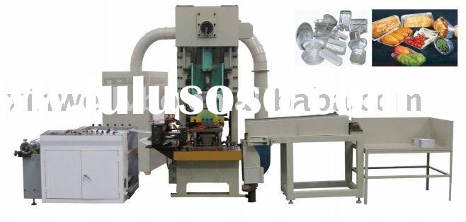 household aluminum foil container making machine