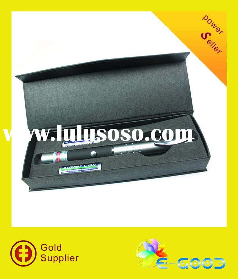 100mW 532nm  Green Laser Pointer Pen Mid-Open