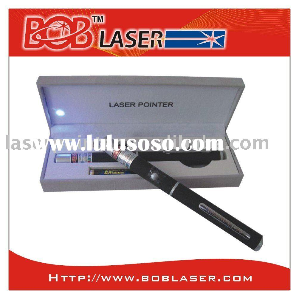 10mW 405nm Mid-open Violet Purple Blue Laser Pointer Pen