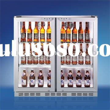 200L Wine Cooler Direct Cool LED lighting system inside