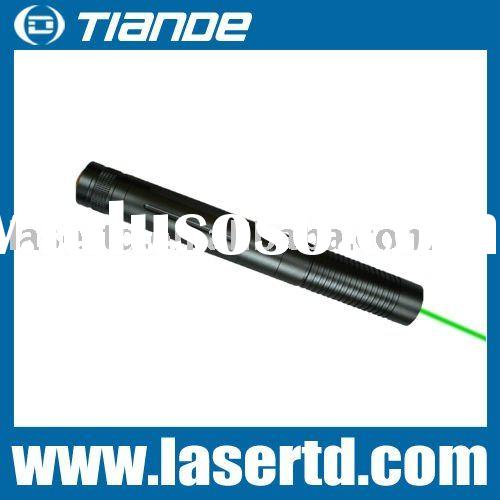 200-500mW High power waterproof green laser pointer pen