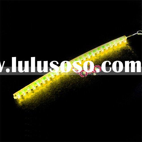 24-LED Strip Car Lights Flexible Grill Light Yellow
