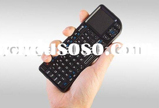 2.4G wireless mini keyboard touch pad (mouse) + Laser Pointer 3-one