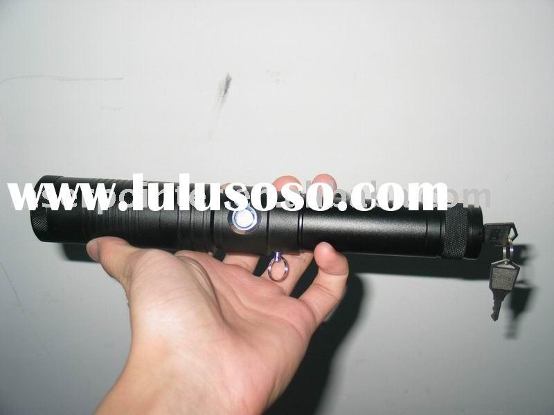 500mw High Power Green Laser Pointer with Variable Focus and security key