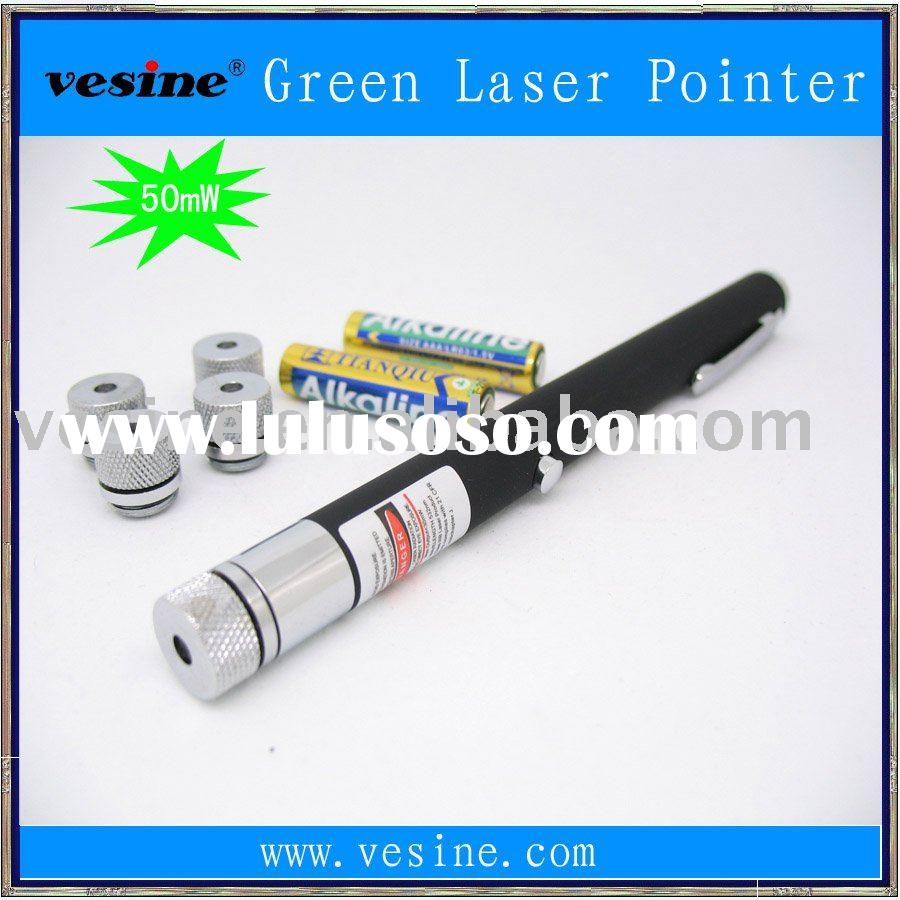 50mW Green Laser Pointer Pen Star Pattern