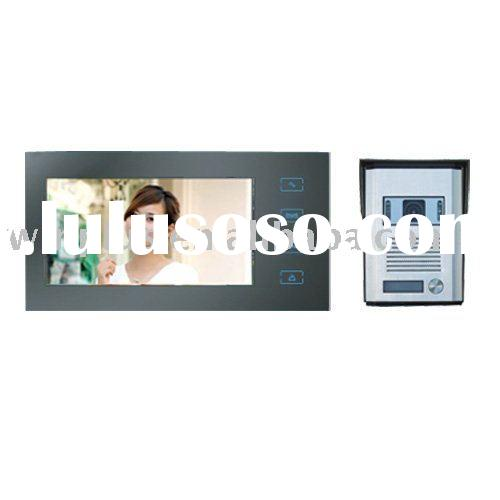 "7"" Hands-free Color Video Door Phone(Touch Pad)"