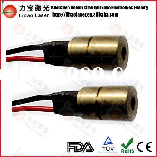 8mm*650nm 5mw red laser dot module full brass case