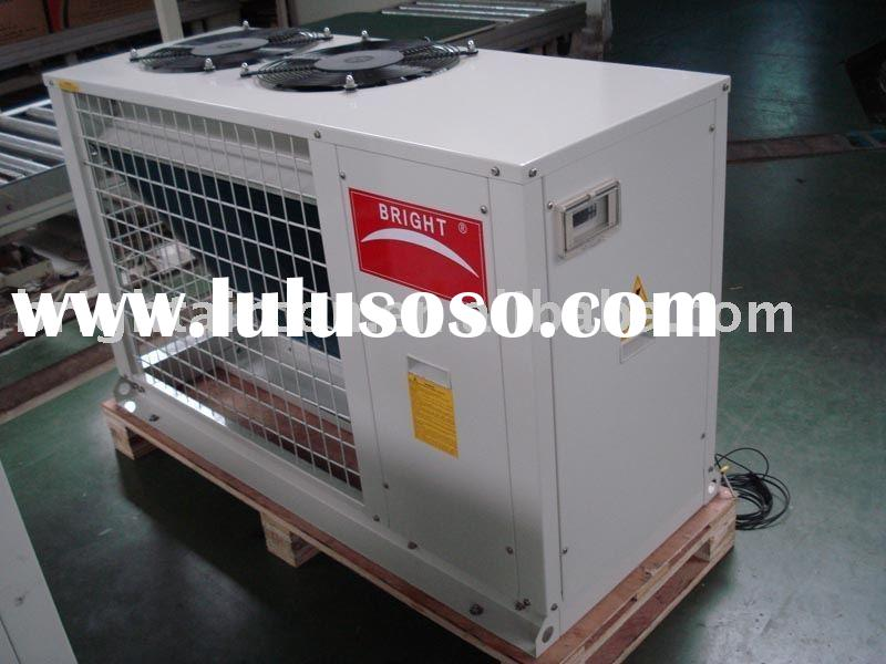 Air source heat pump with heat recovery